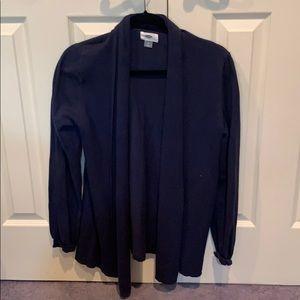 Old Navy, Navy Blue cardigan size M